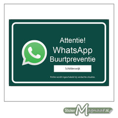 WhatsApp beveiliging stickers