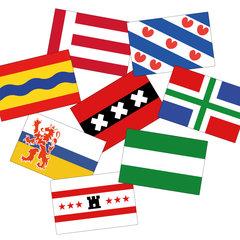 Vlaggen stickers