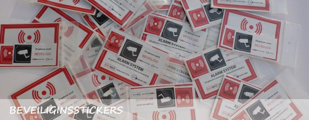 Camerabewaking-Stickers