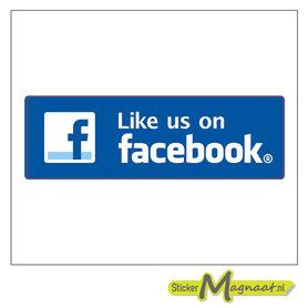 Like us on Facebook - Sticker