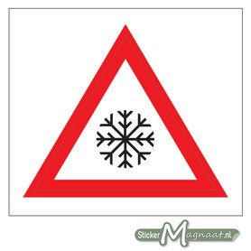 Lage Temperatuur Sticker