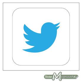 Twitter Logo Stickers
