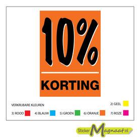 % Korting Raamstickers - Verschillende Kleuren