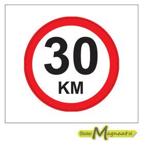 30 KM Bord Stickers