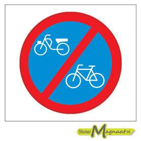 Verboden Parkeren voor (Brom)fietsen Stickers