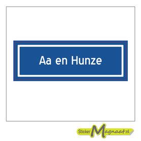 Sticker Aa en Hunze