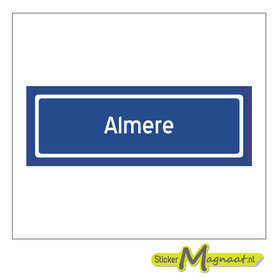 Sticker Almere
