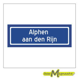 Sticker Alphen aan den Rijn