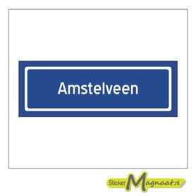 Sticker Amstelveen