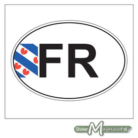 Provincie Sticker Friesland