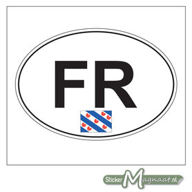 Auto Sticker Friesland
