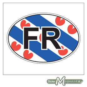 Auto Stickers Friesland