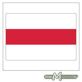 Vlag Enschede Stickers
