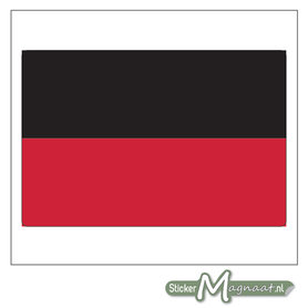 Vlag Nijmegen Stickers