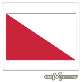 Vlag Utrecht Sticker