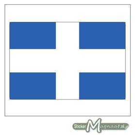 Vlag Zwolle Stickers