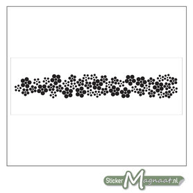 Raamdecoratie Stickers - 2 Stuks - Abstract