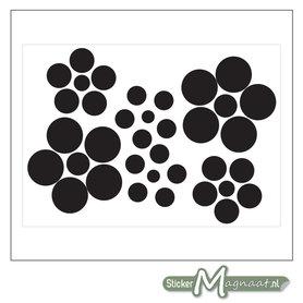 Raamdecoratie Stickers - Abstract