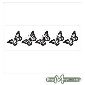Raamdecoratie Stickers - 2 Stuks - Vlinder