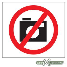 Verboden te Fotograferen Stickers