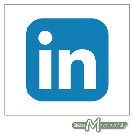 LinkedIn Logo Sticker