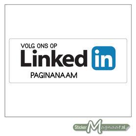 LinkedIn Stickers met eigen naam