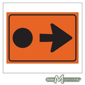 Route Gevaarlijke Stoffen Sticker
