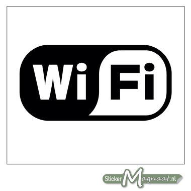 Wifi Logo Sticker