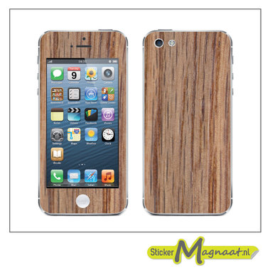 iPhone Stickers - Hout