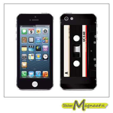 iPhone Stickers - Cassette