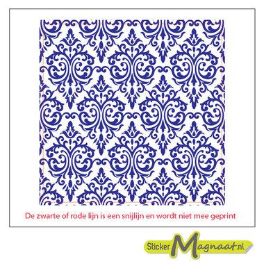 Tegelsticker portugees blauw wit