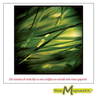 Tegelsticker gras
