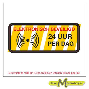Elektronische Beveiligingsstickers - 6 Stuks
