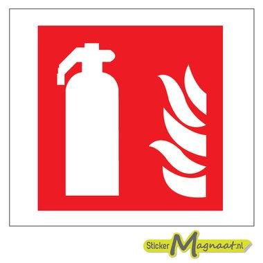 Brandblusser Stickers