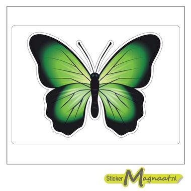 Dieren stickers vlinder