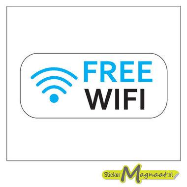 Free WiFi Stickers - 1 Stuk