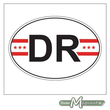 Provincie Stickers Drenthe