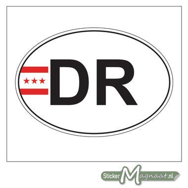 Provincie Sticker Drenthe