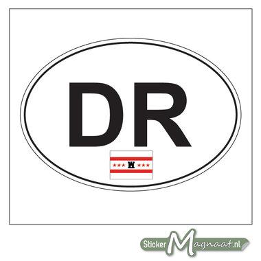 Auto Sticker Drenthe