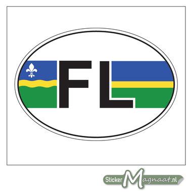 Provincie Stickers Flevoland