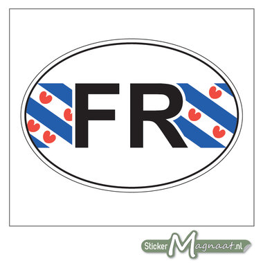 Provincie Stickers Friesland