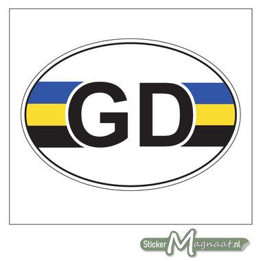Provincie Stickers Gelderland
