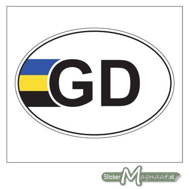 Provincie Sticker Gelderland