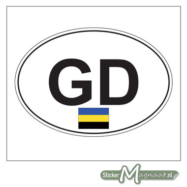 Auto Sticker Gelderland
