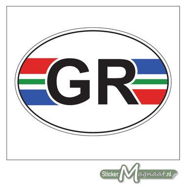 Provincie Stickers Groningen