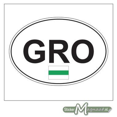Auto Sticker Groningen stad