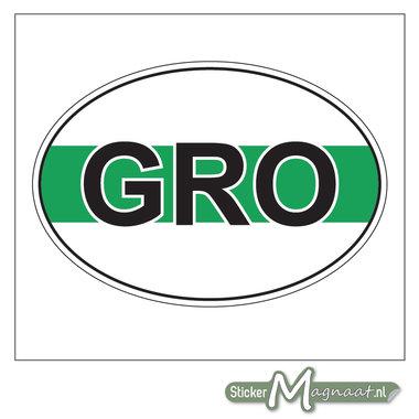 Stad Sticker Groningen