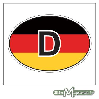 Auto Sticker Duitsland