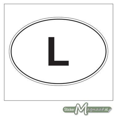Landen Stickers Luxemburg