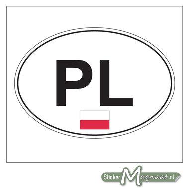 Auto Stickers Polen